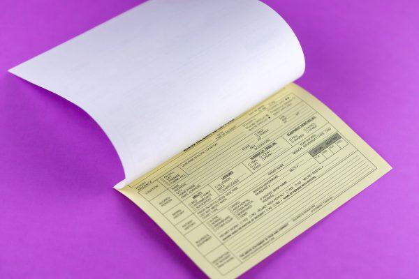 carbonless copy forms