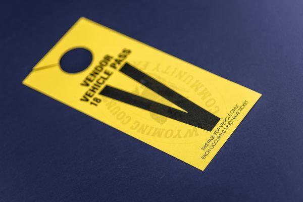 door hanger sample