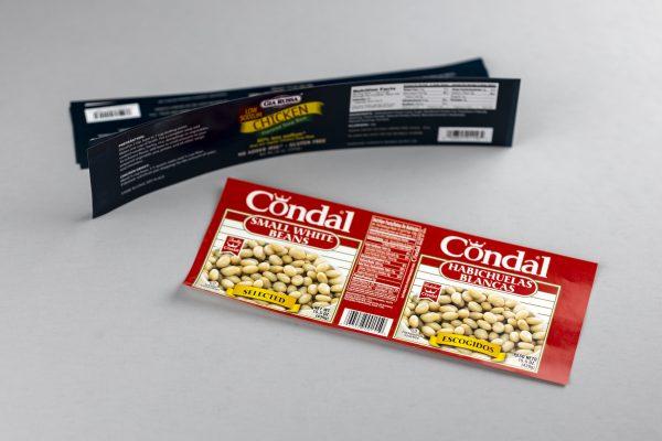 label samples